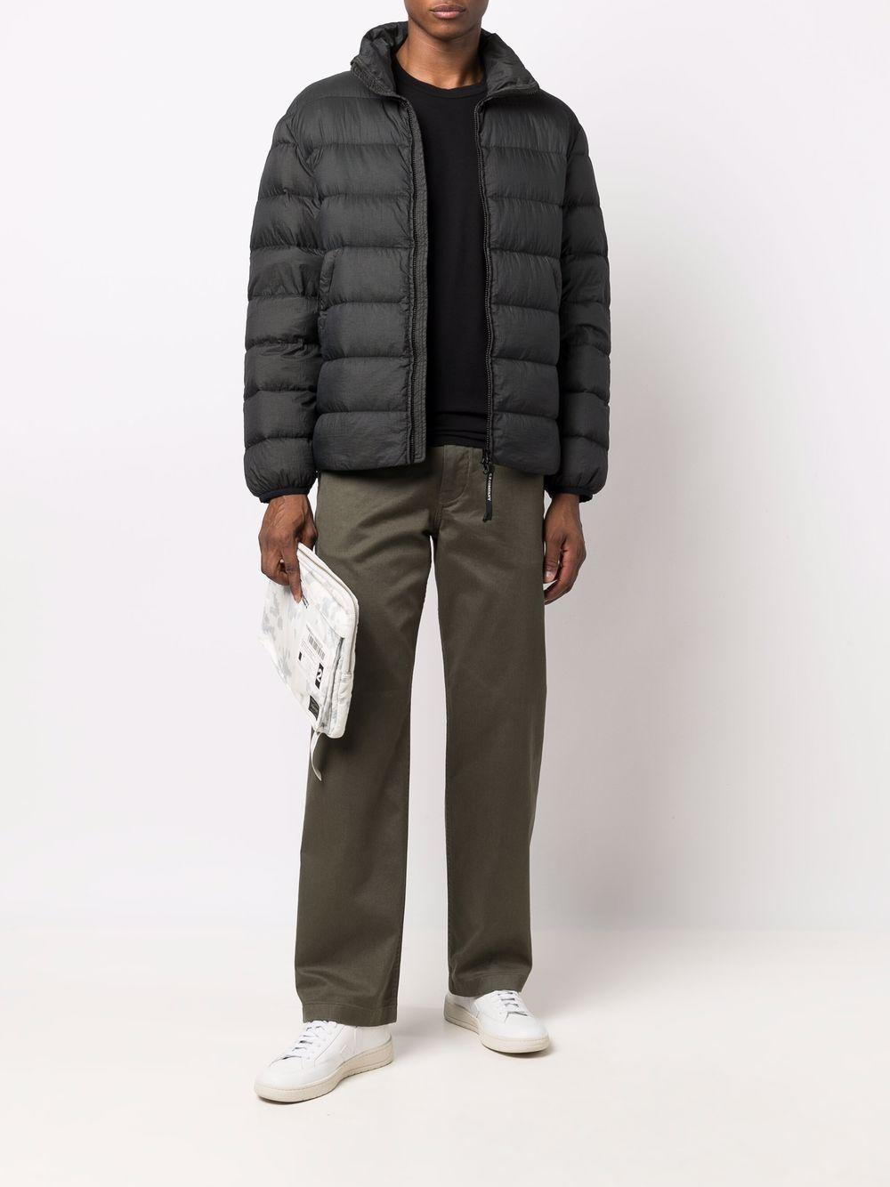 padded jacket man dark green C.P. COMPANY | Jackets | 11CMOW165A006110G968