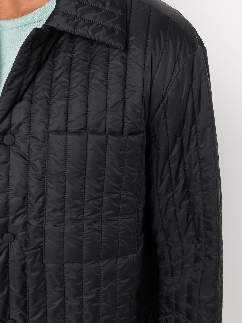 giacca camicia worker uomo nera in cotone CRAIG GREEN | Giacche | CGAW21CWOJKT01