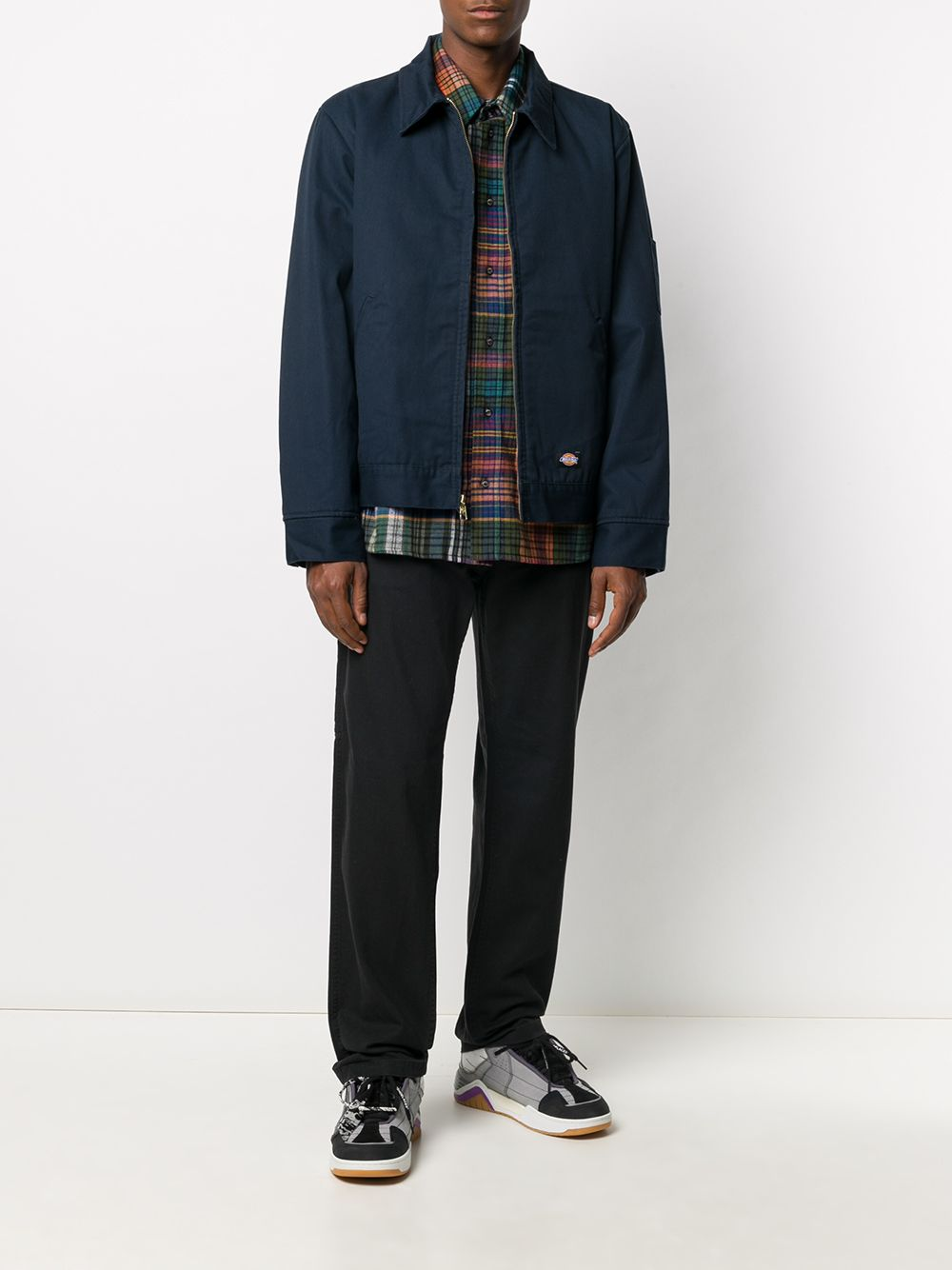 giacca camicia uomo blu DICKIES   Giacche   DK00TJ15DNX1