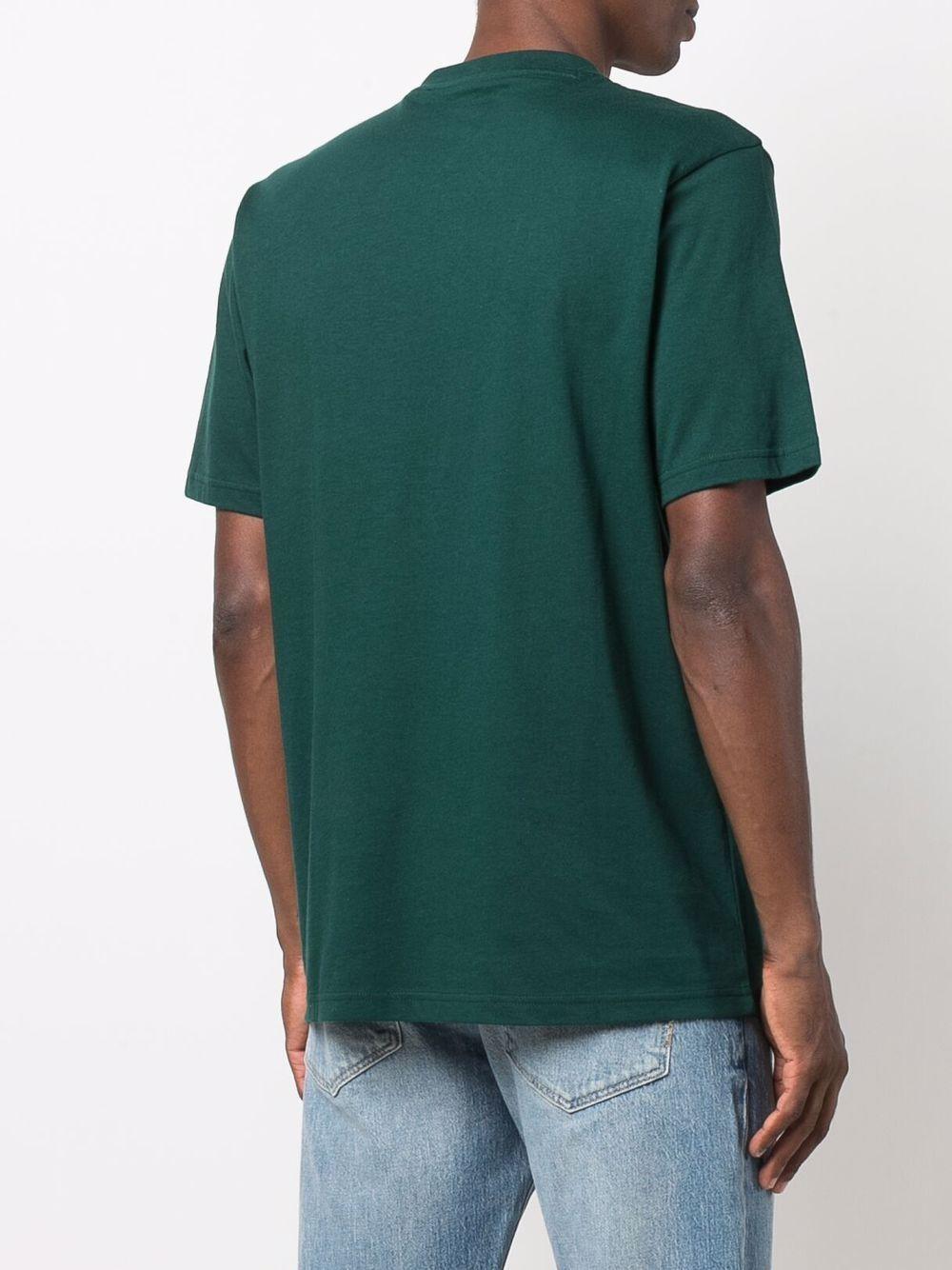 logo t-shirt man green in cotton DICKIES | T-shirts | DK0A4XC9B851
