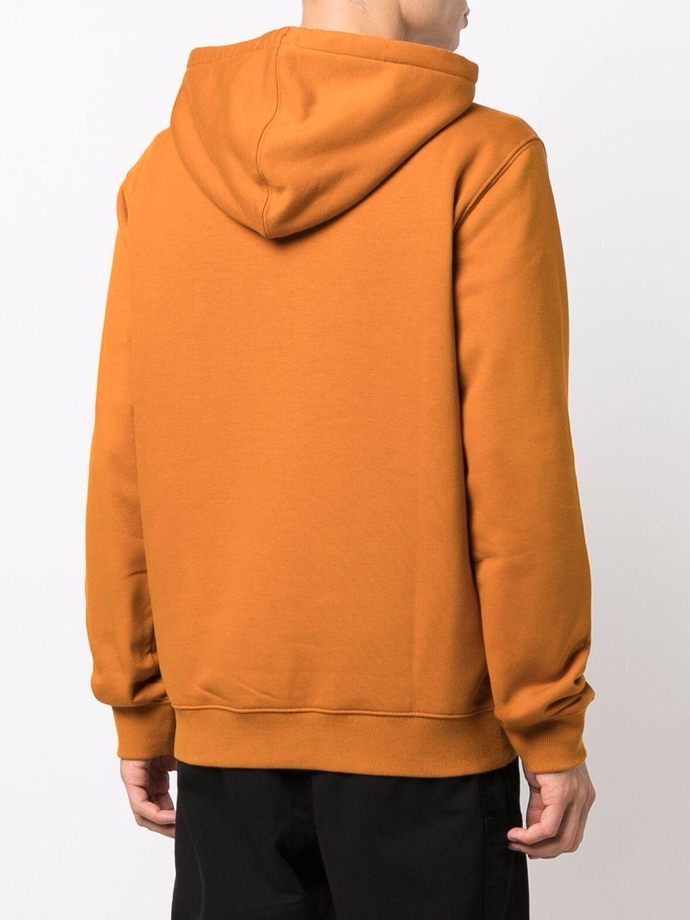 hoodie man orange in cotton DICKIES | Sweatshirts | DK0A4XCDB831