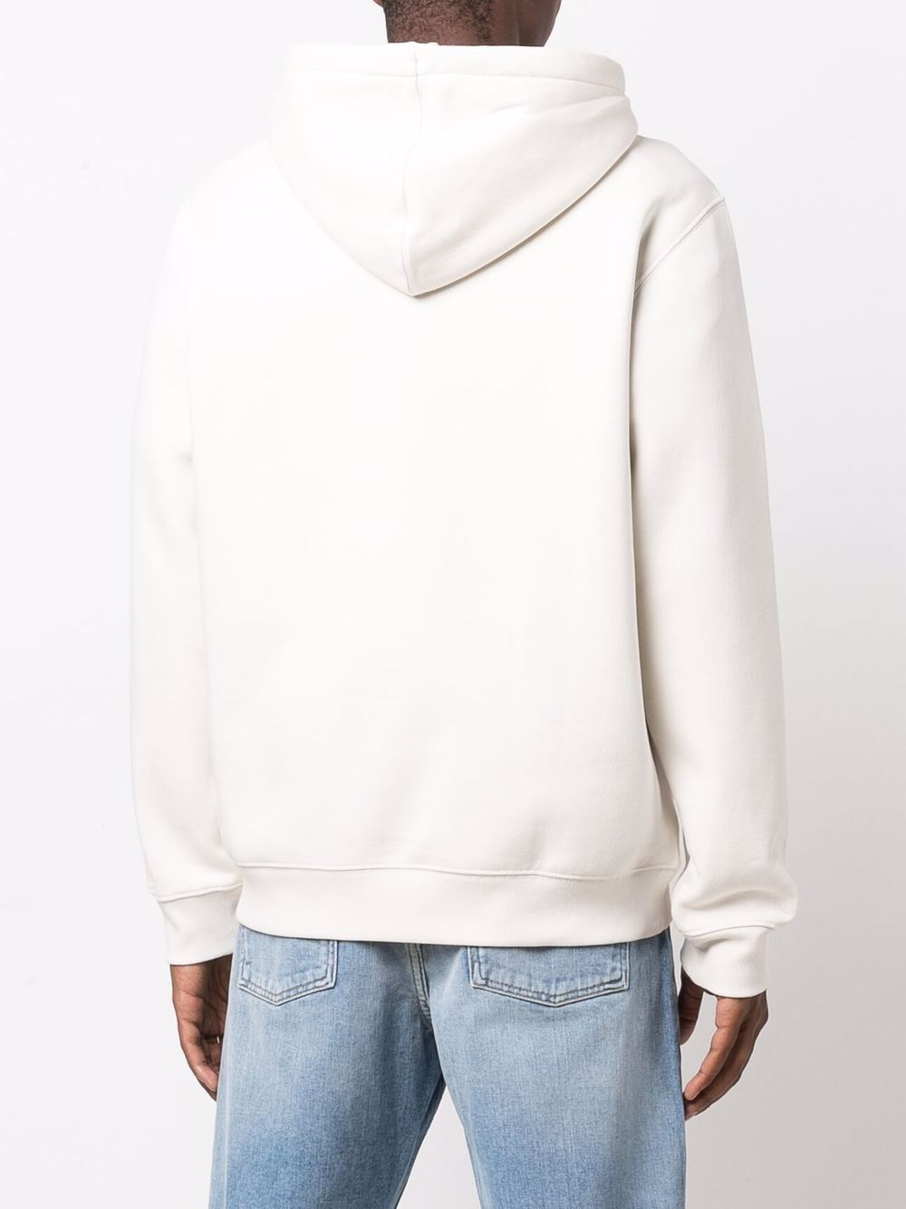 logo hoodie man ecru in cotton DICKIES | Sweatshirts | DK0A4XCDECR1