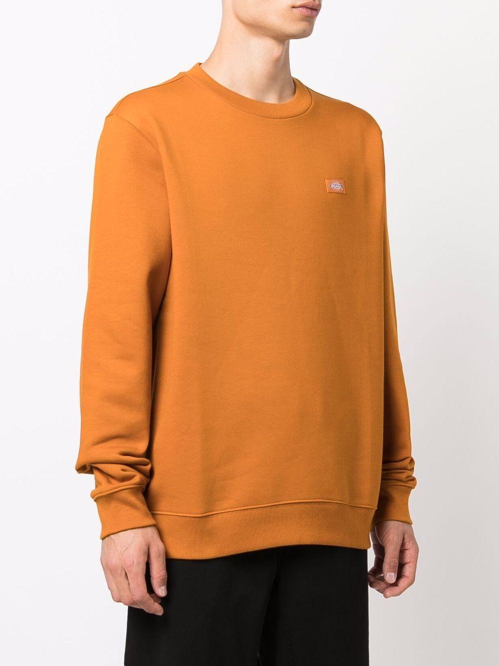felpa con logo uomo arancione in cotone DICKIES | Felpe | DK0A4XCEB831