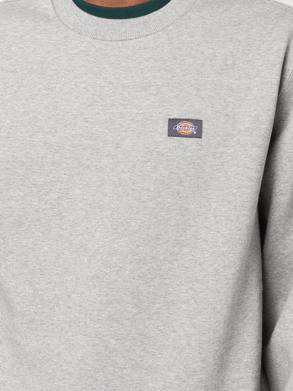 felpa con logo uomo grigia in cotone DICKIES | Felpe | DK0A4XCEGYM1