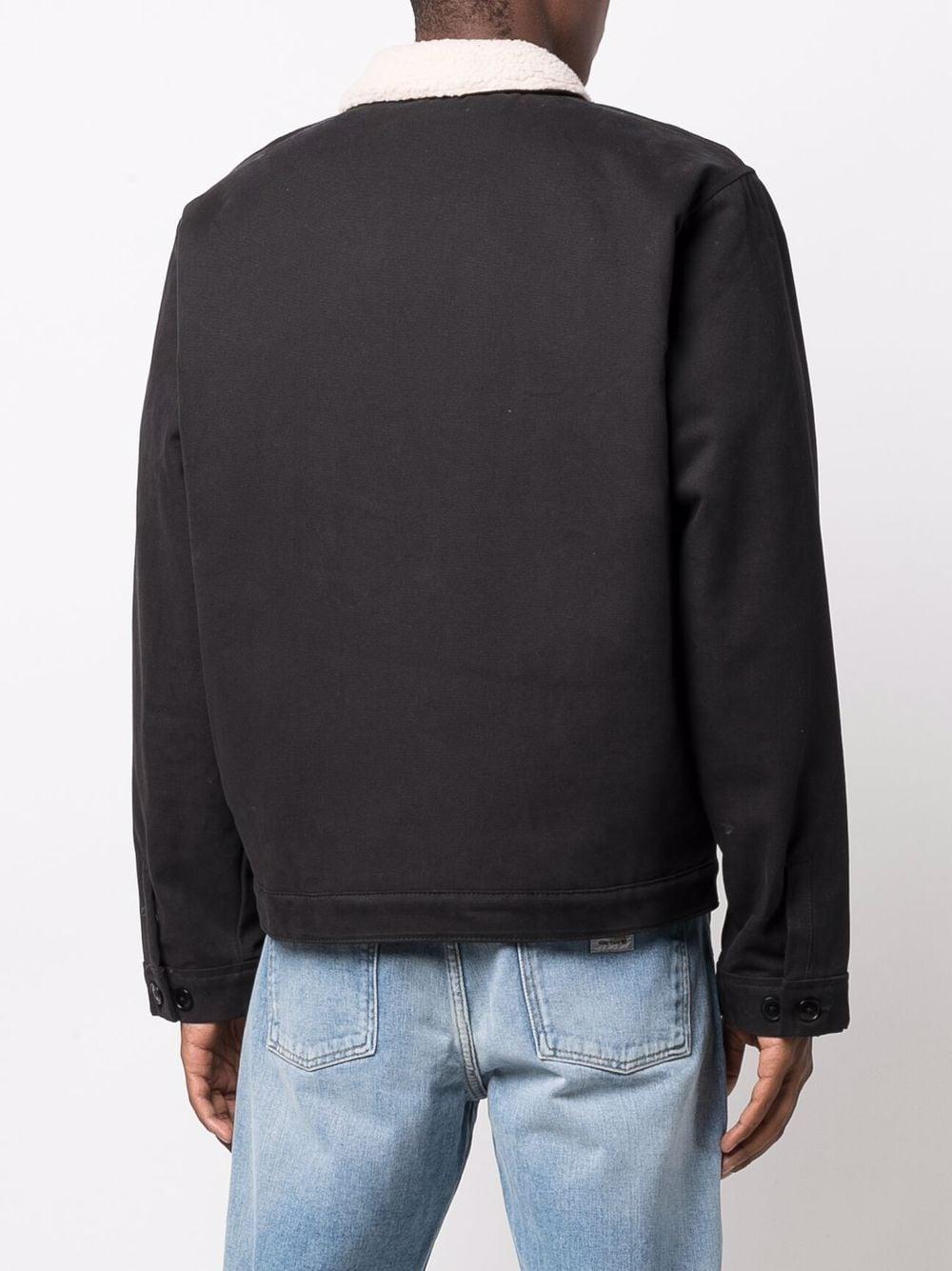 canvas jacket man black in cotton DICKIES | Jackets | DK0A4XFYBLK1