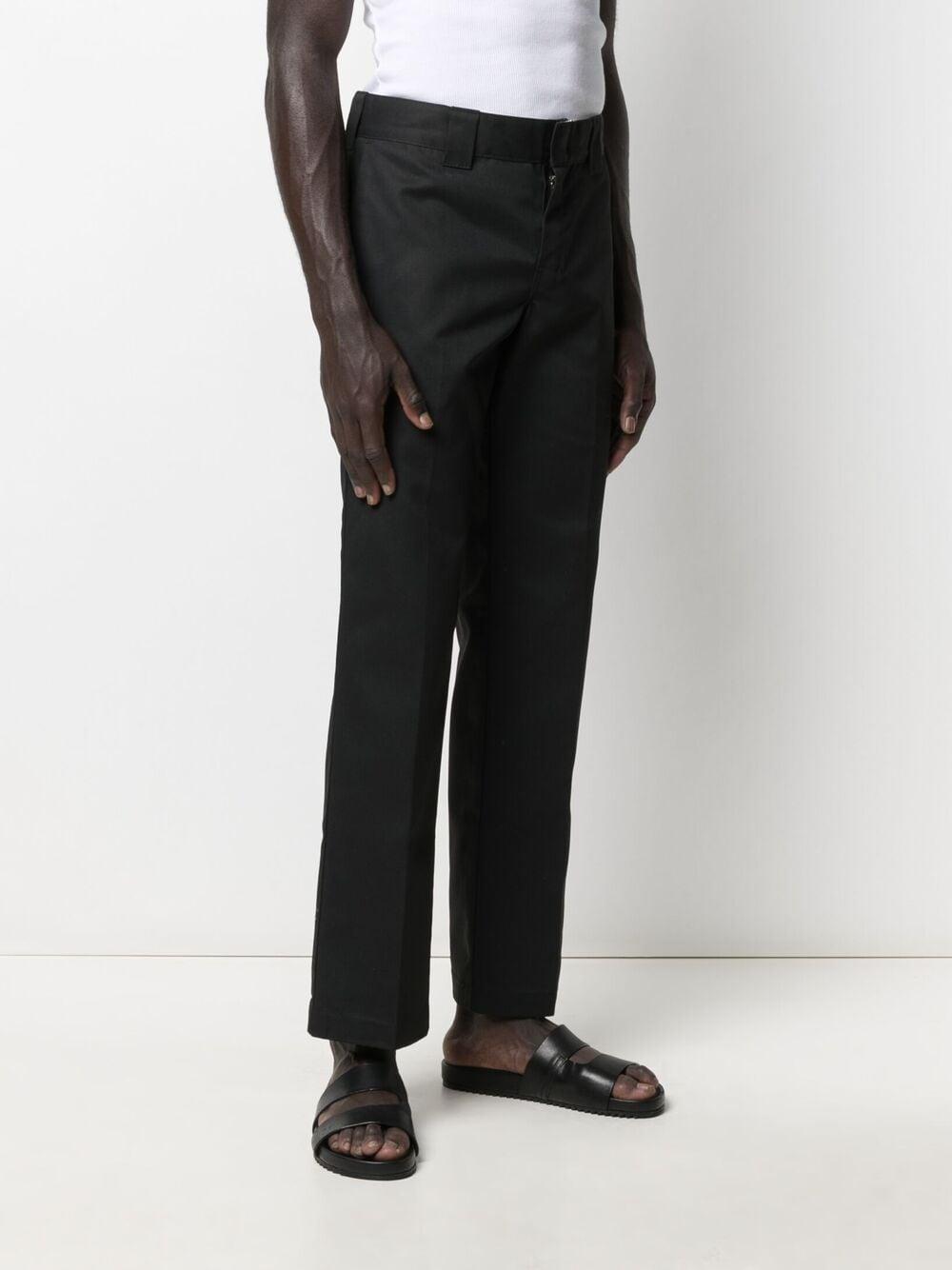 straight pant man black DICKIES   Trousers   DK0WP873BLK1