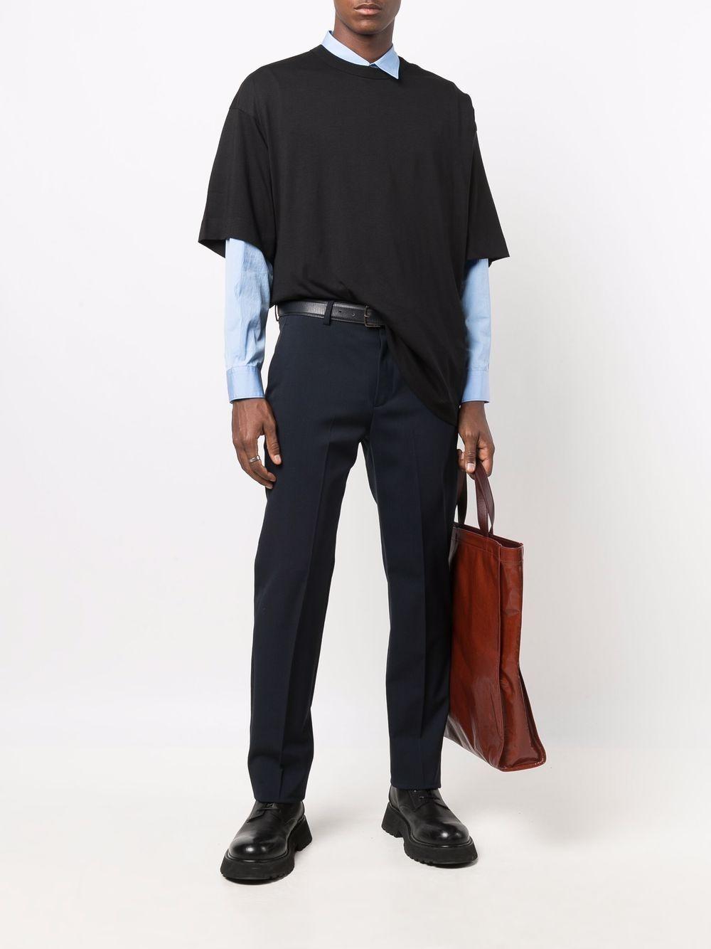 hein t-shirt man black in cotton DRIES VAN NOTEN | T-shirts | HEIN 3600900