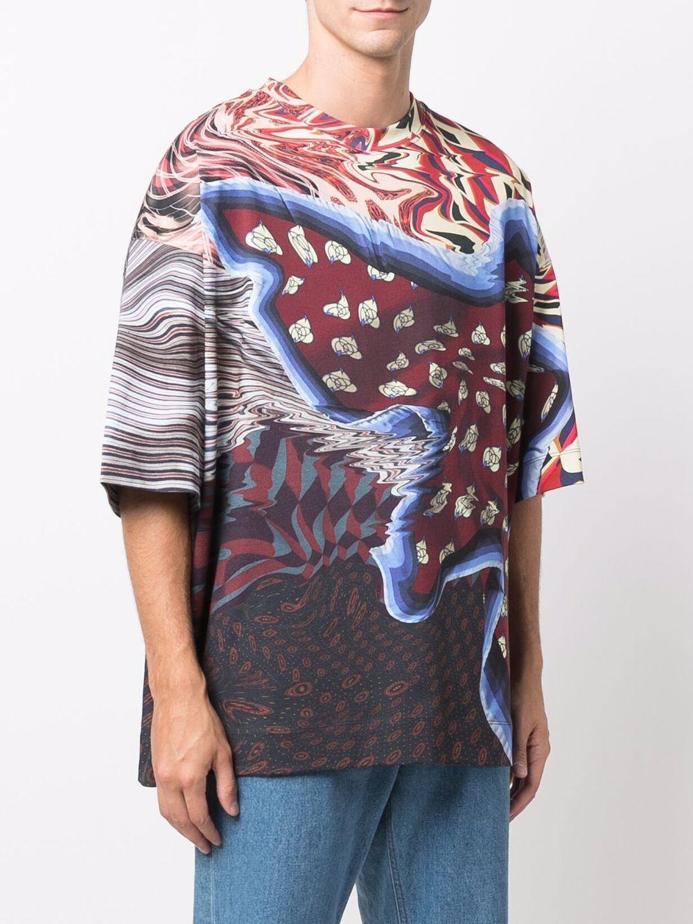 printed t-shirthen DRIES VAN NOTEN | T-shirts | HEN PR 3606358