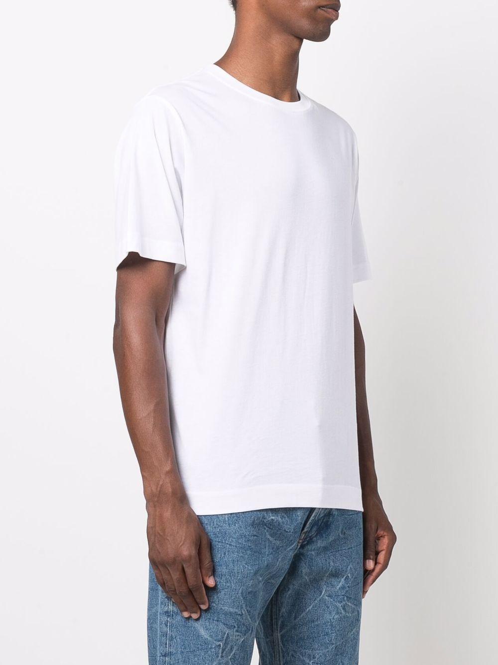 t-shirt hertz uomo bianca in cotone DRIES VAN NOTEN | T-shirt | HERTZ 36001