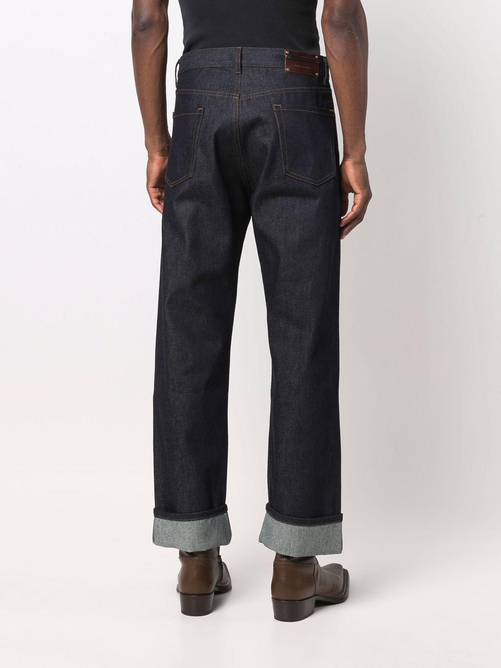 pantheros bis jeans man blue DRIES VAN NOTEN | Trousers | PANTHERO BIS 3373507