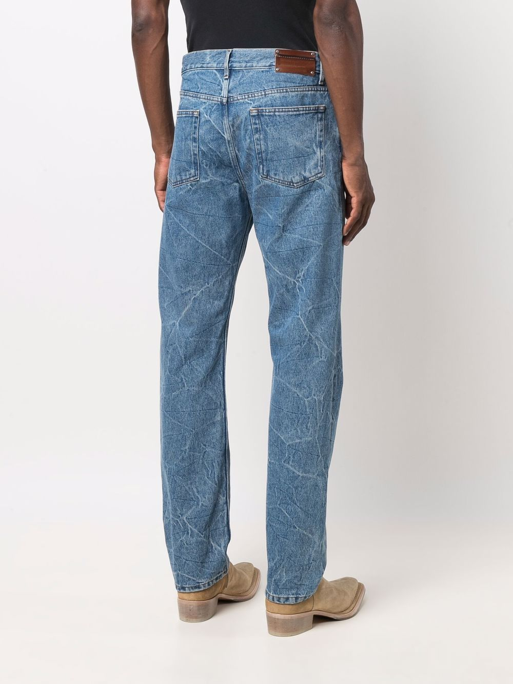 jeans penna uomo in cotone DRIES VAN NOTEN | Pantaloni | PENNA 3381504