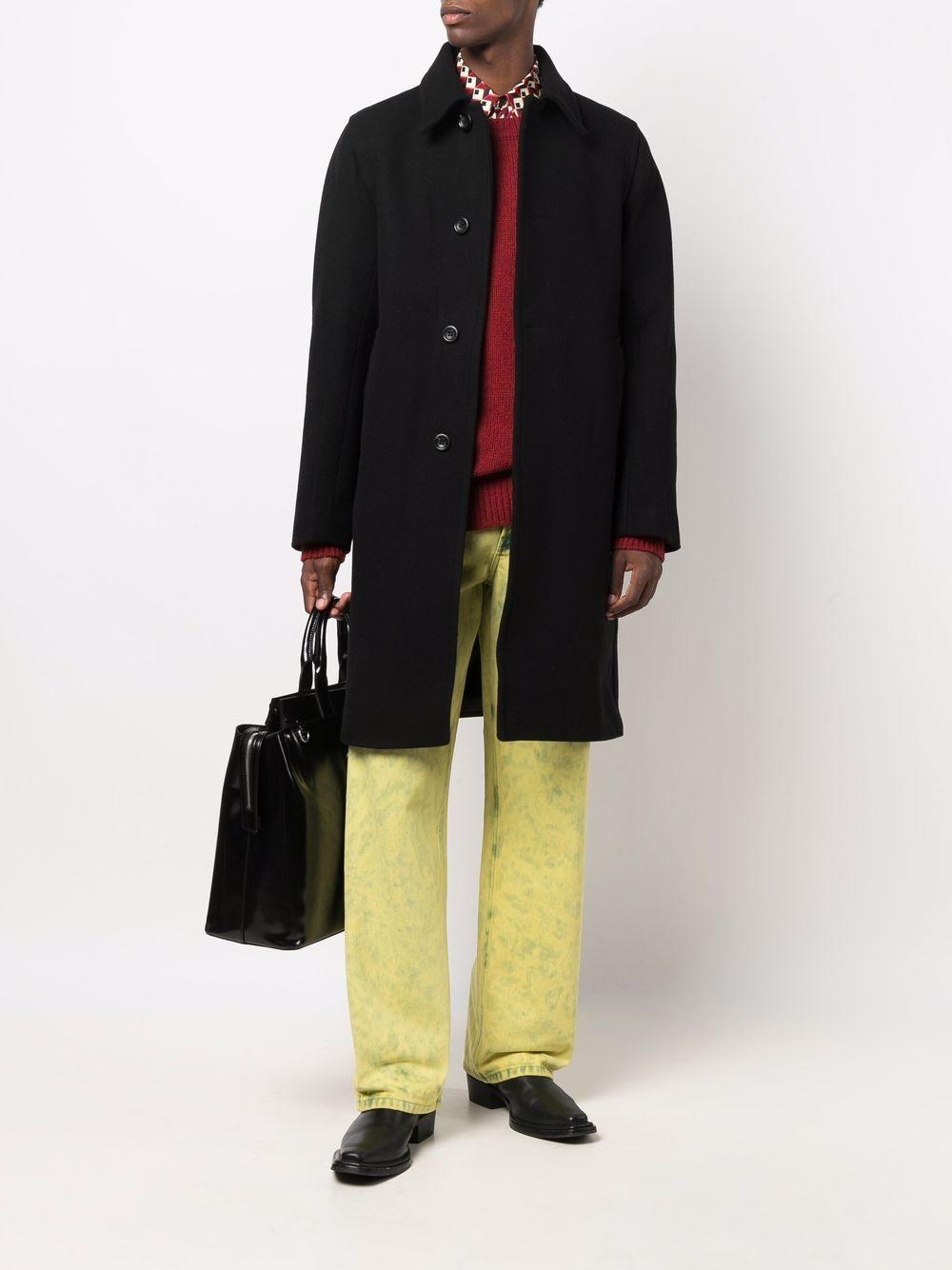 pantaloni pine uomo gialli in cotone DRIES VAN NOTEN   Pantaloni   PINE 3382201