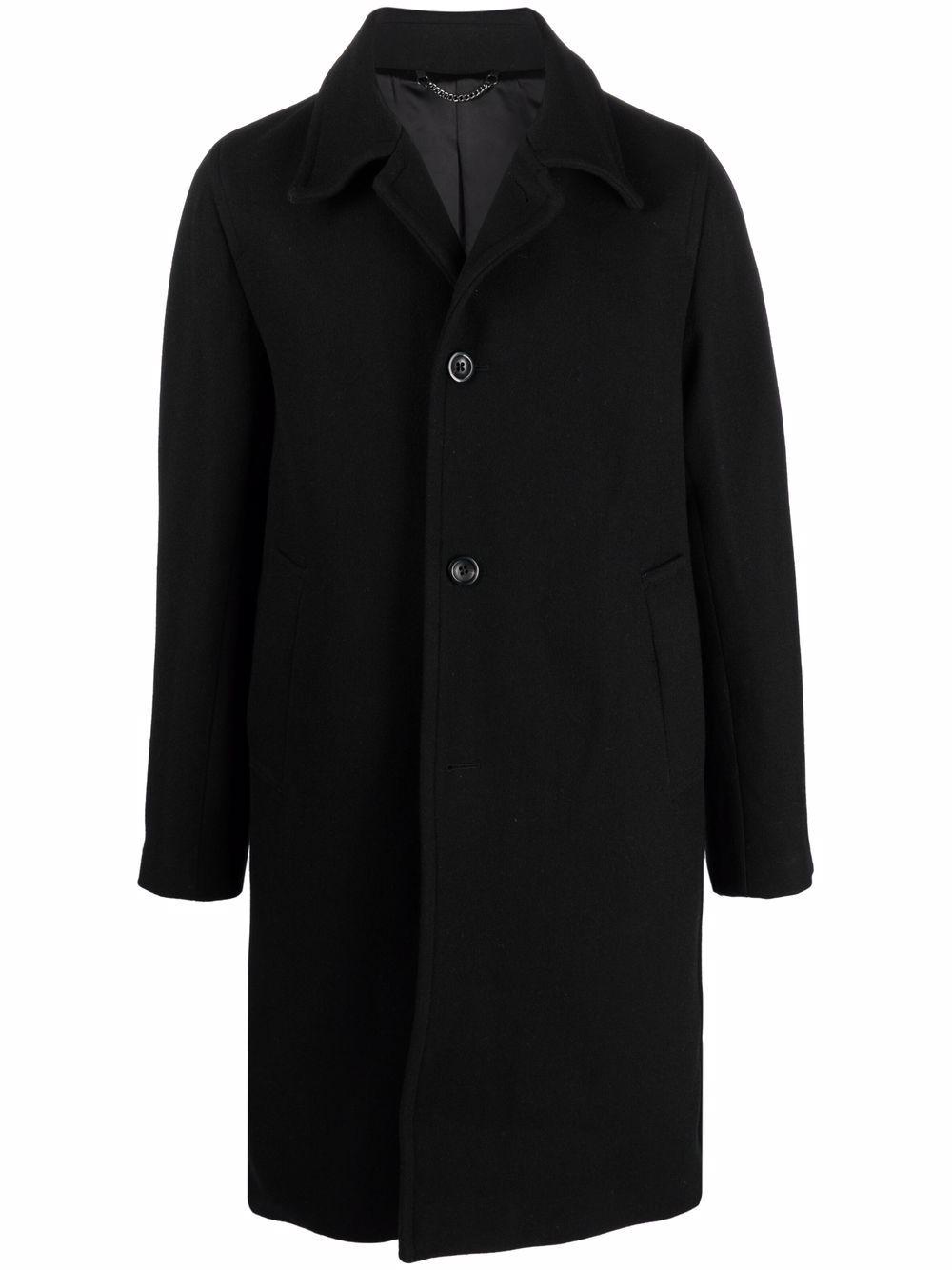 rovey coat man black in wool DRIES VAN NOTEN | Coats | ROVEY 3354900