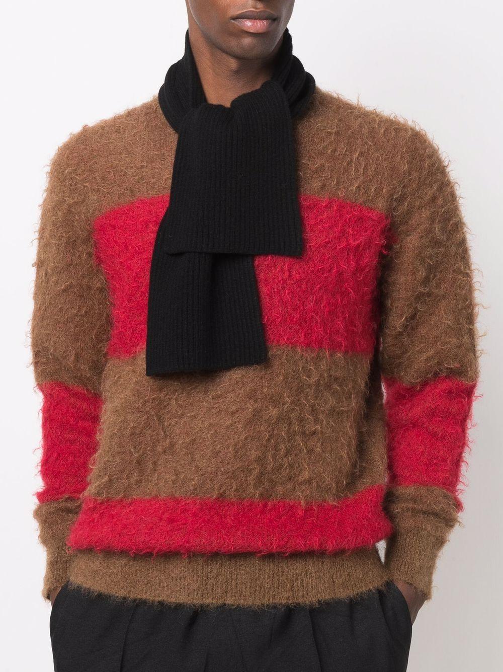 tala scarf unisex black in cashmere DRIES VAN NOTEN      TALA 3701900