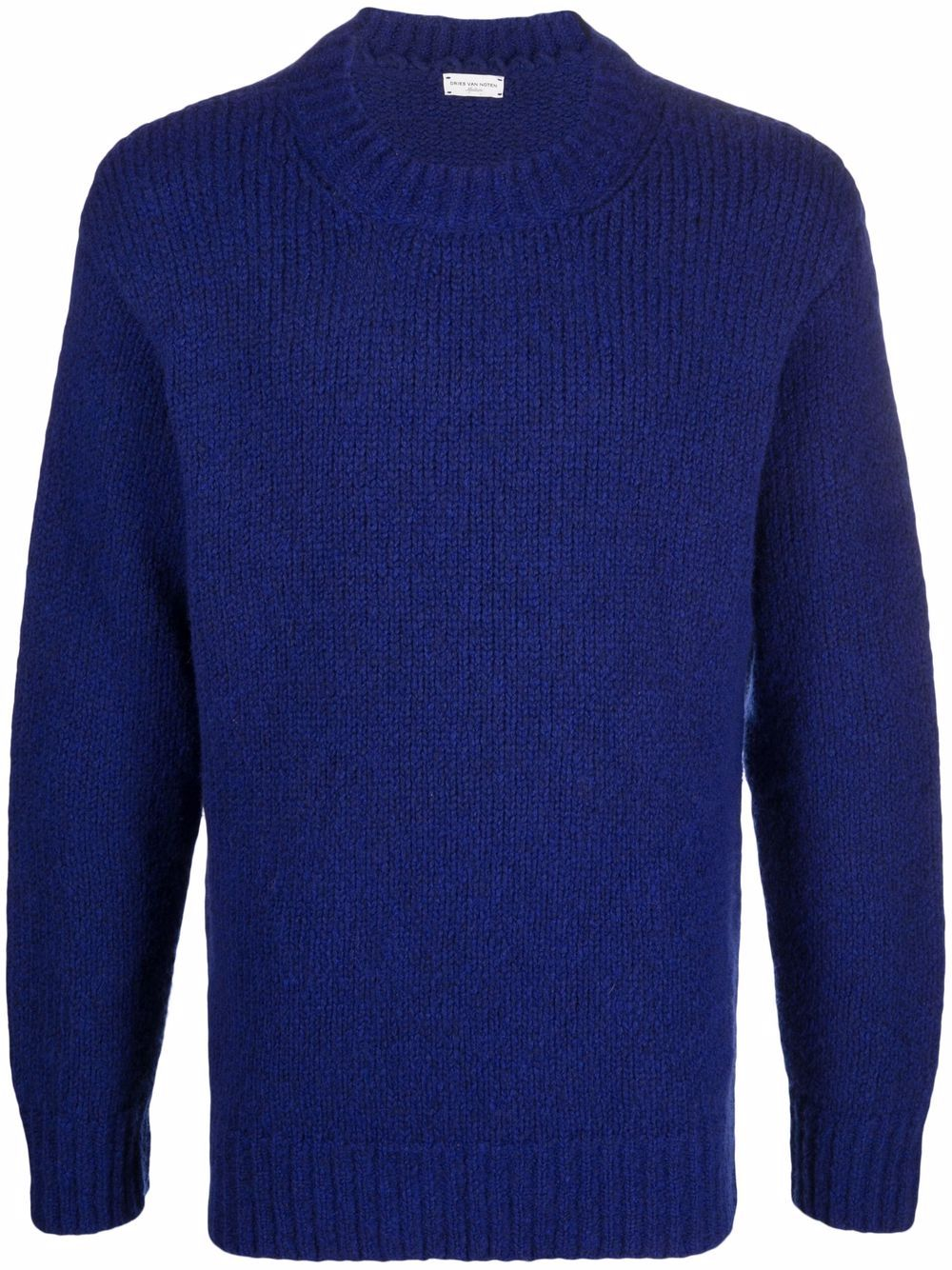 maglione tibbe uomo blu in lana DRIES VAN NOTEN   Maglieria   TIBBE 3705512