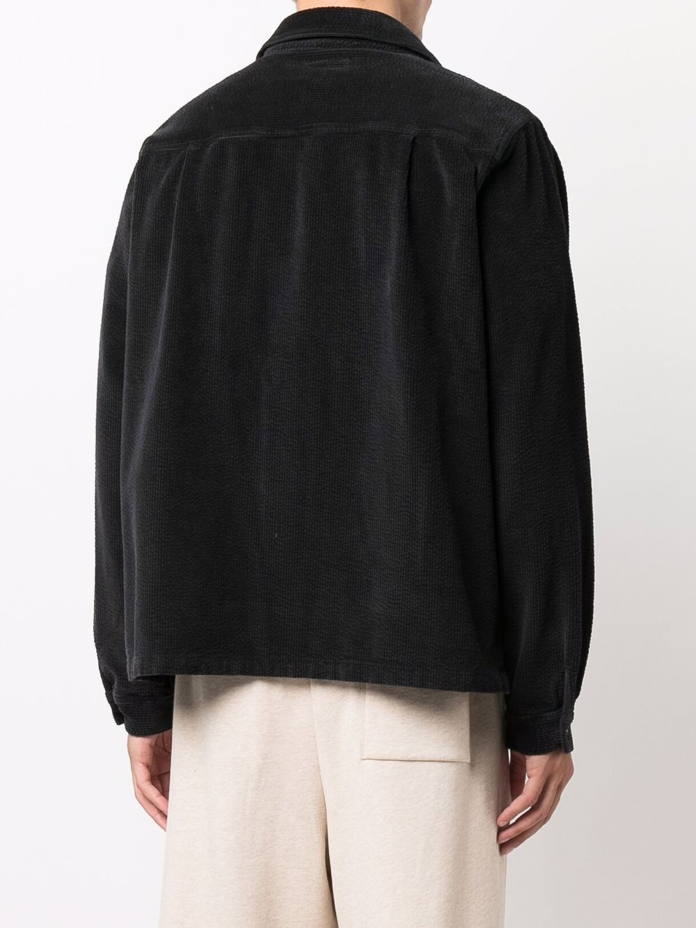 woven shirt man black in cotton ERL | Shirts | ERL03B0011