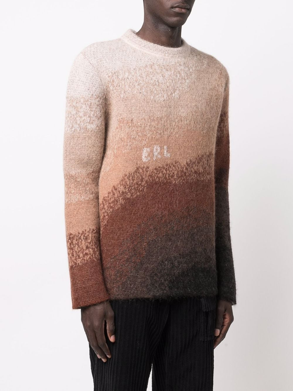 maglione bowy uomo marrone ERL | Maglieria | ERL03N0031