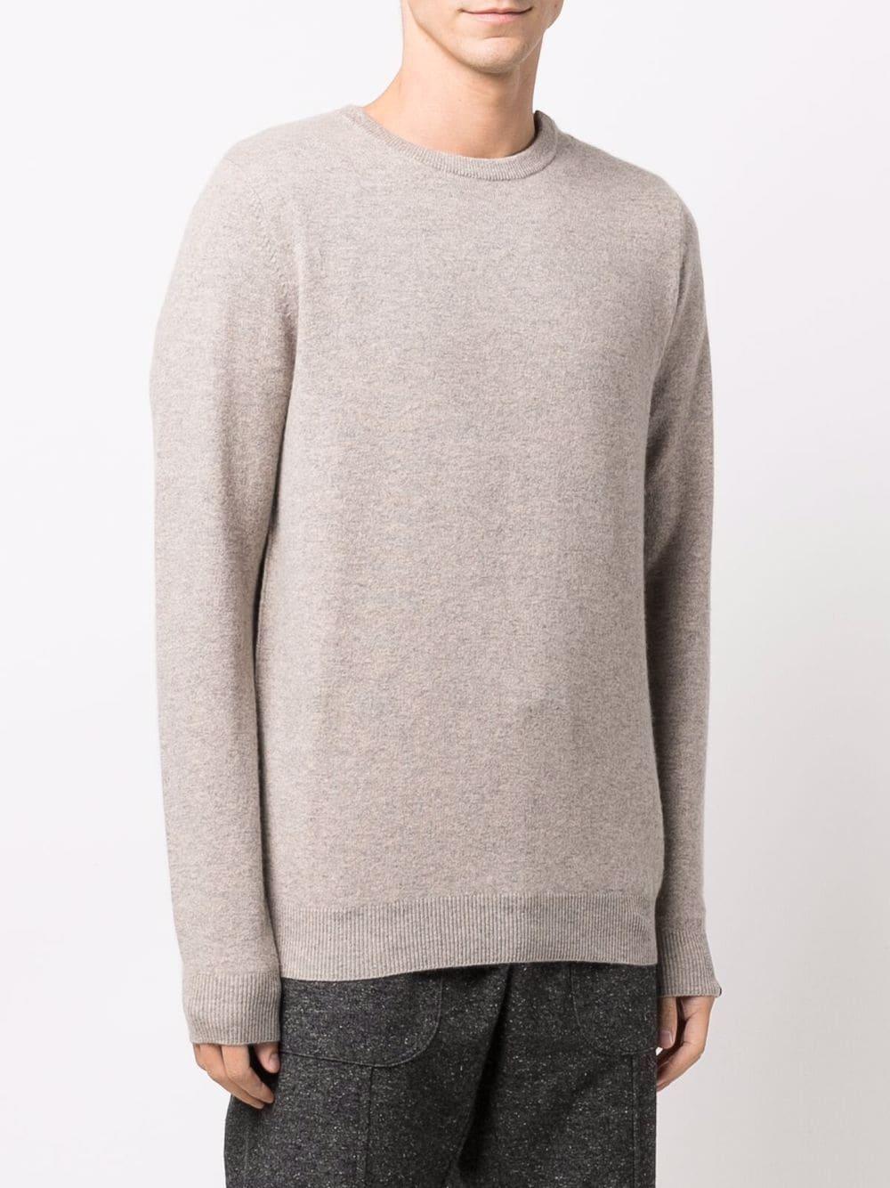 maglione a girocollo uomo beige in cashmere EXTREME CASHMERE   Maglieria   03603701FE01MOSS