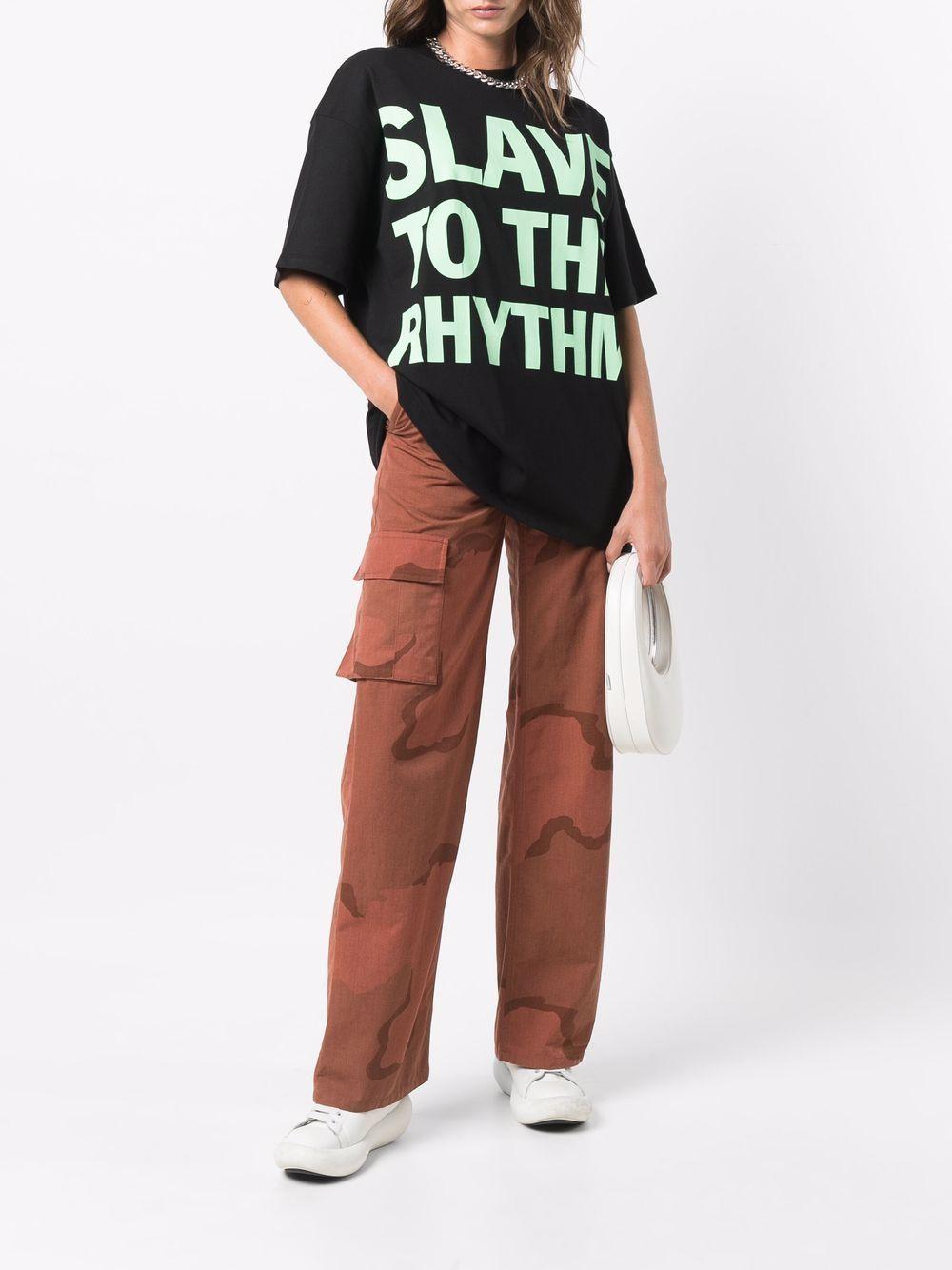 t-shirt con slogan unisex nera in cotone HONEY FUCKING DIJON   T-shirt   HFD04T0022