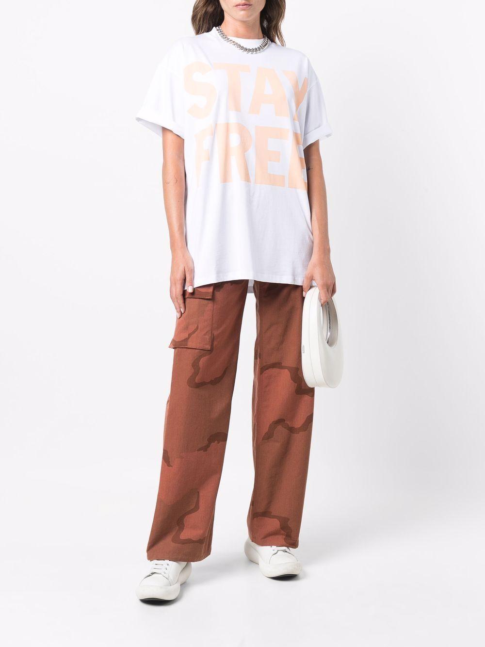 slogan t-shirt unisex white in cotton HONEY FUCKING DIJON | T-shirts | HFD04T0026