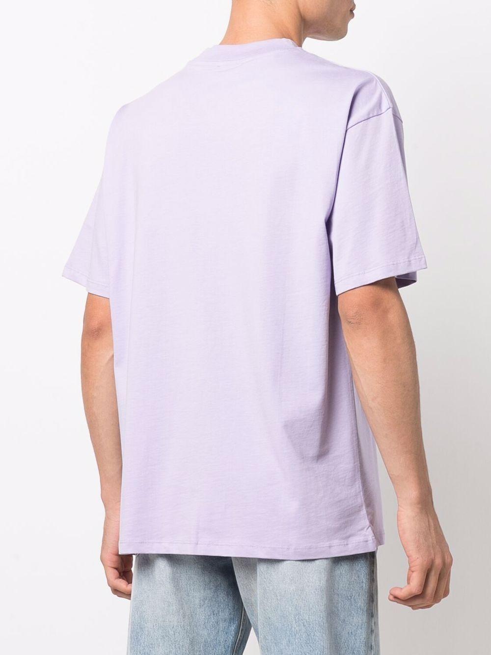 slogan t-shirt unisex liliac in cotton HONEY FUCKING DIJON | T-shirts | HFD04T0031