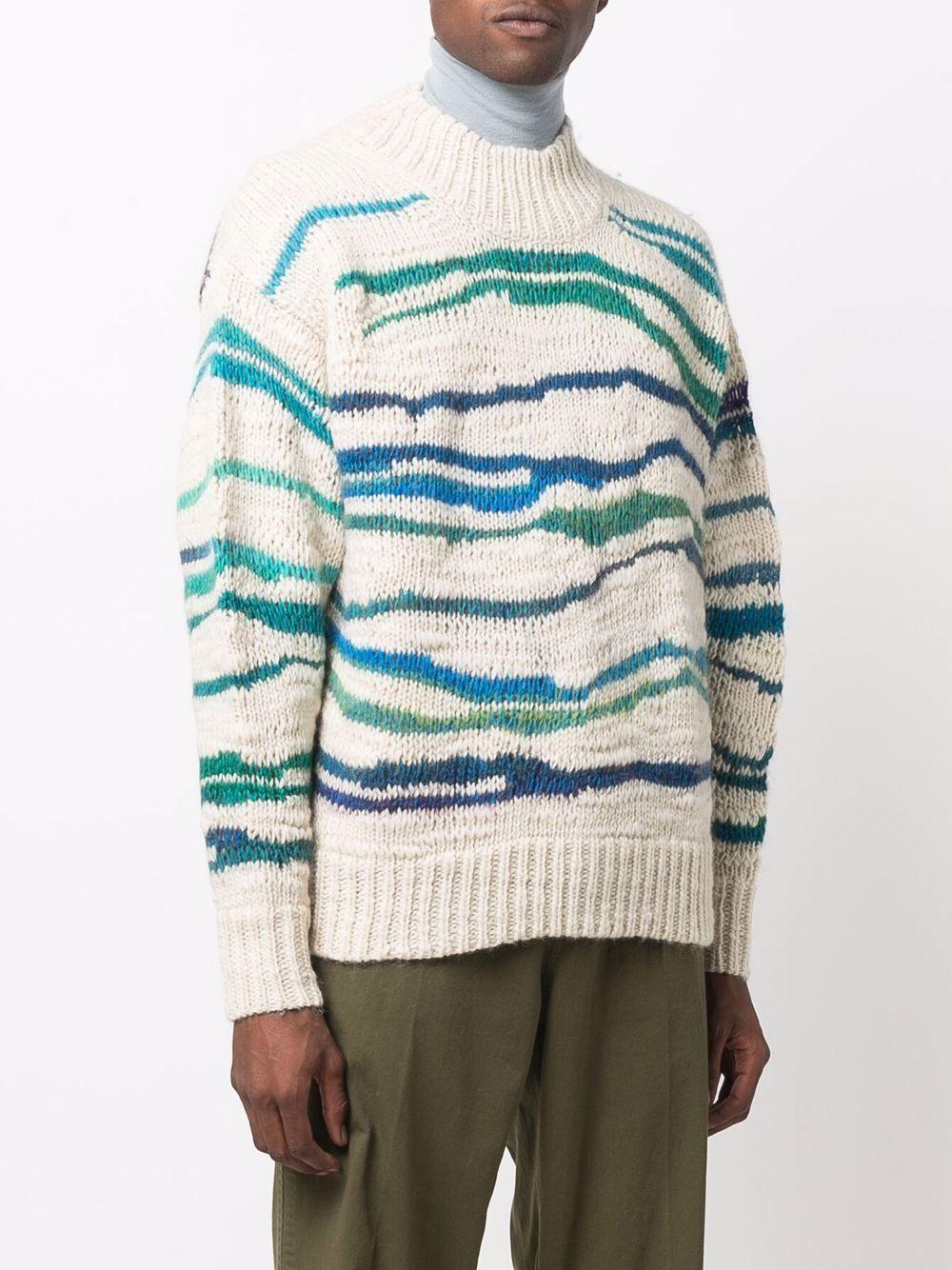 seth sweater man ecru in wool ISABEL MARANT | Sweaters | 21APU1697-21A062HGEEC