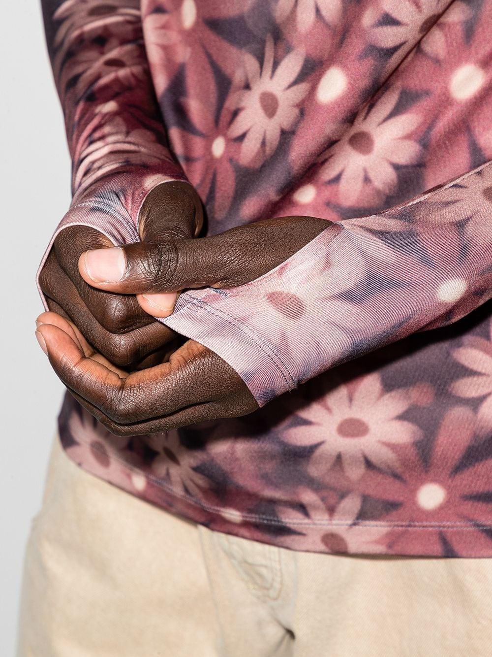 la seconde peau fleur t-shirt man multicolor JACQUEMUS | T-shirts | 216JS09-2168AE
