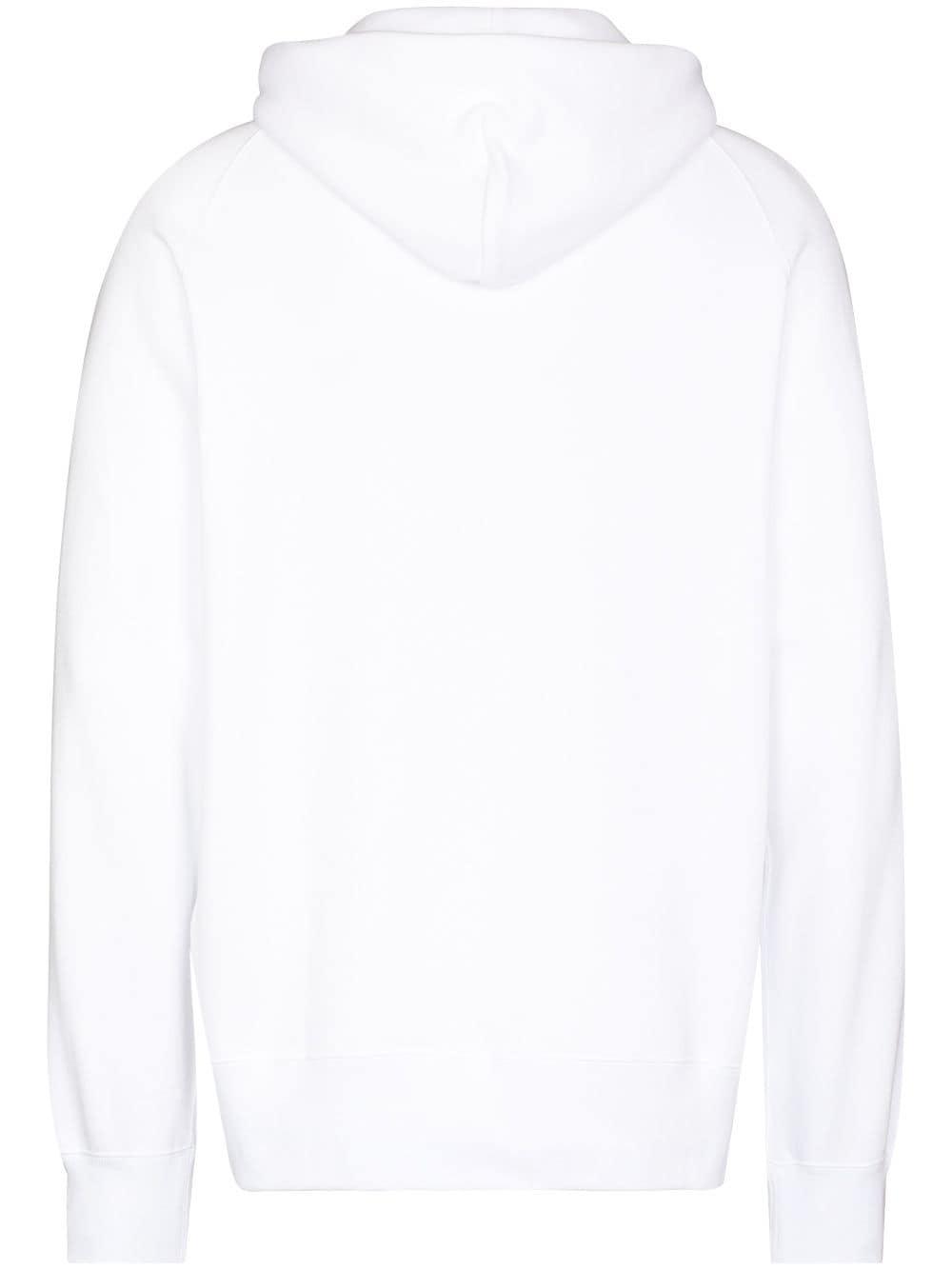 felpa kaws uomo bianca in cotone KAWS X SACAI | Felpe | 21-0286S110