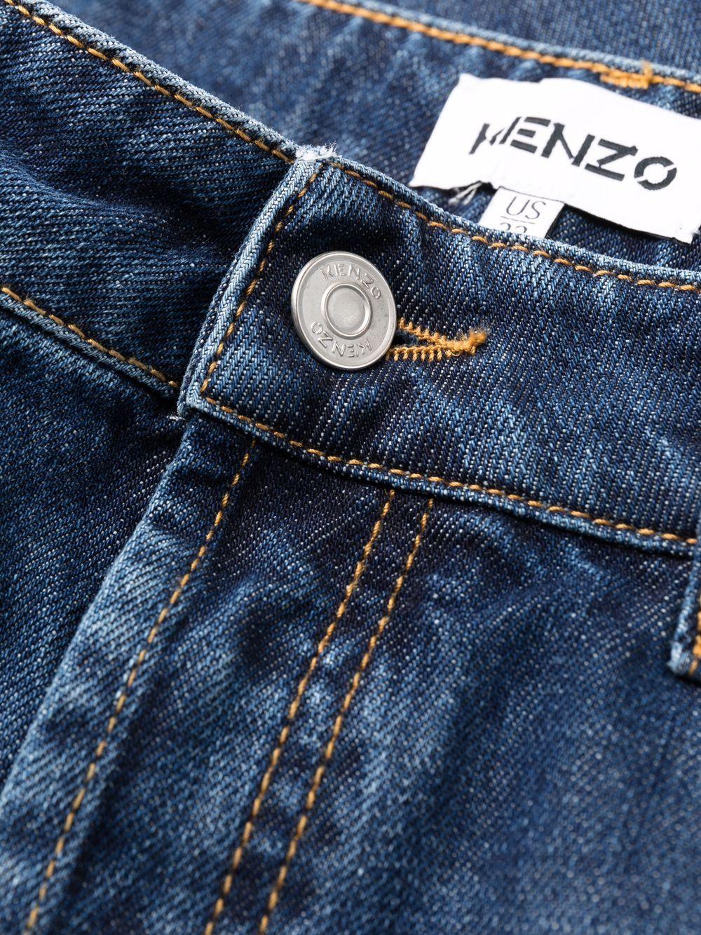 straight jeans man denim KENZO | Jeans | FB65DP2002FA76