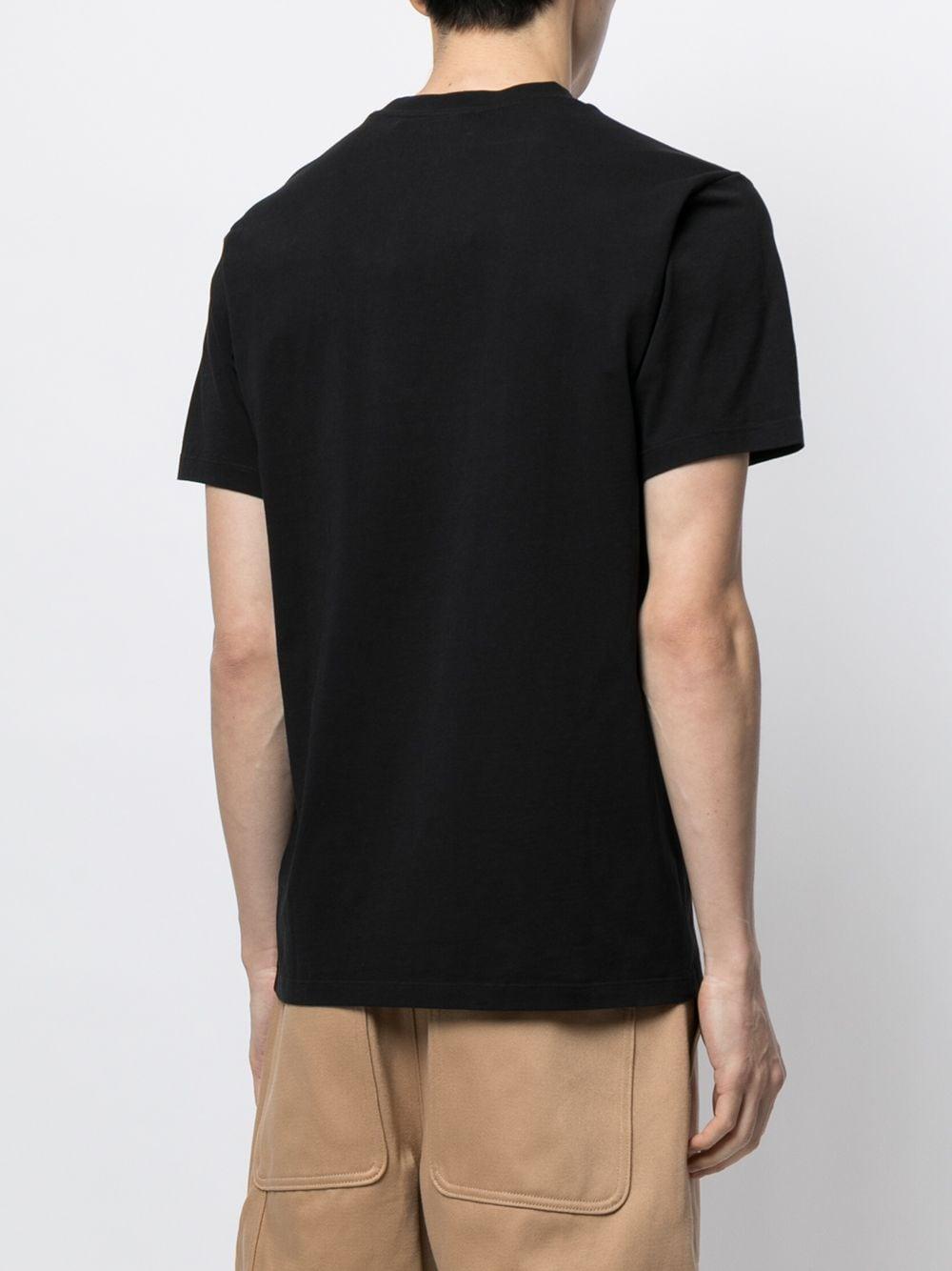logo t-shirt man black in cotton KENZO   T-shirts   FB65TS0204YA99