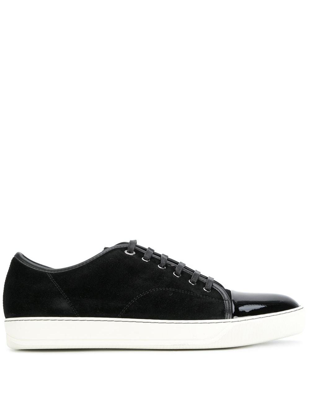 Dbb1 sneakers man black leather LANVIN   Sneakers   FM-SKDBB1-VBAL-P1510