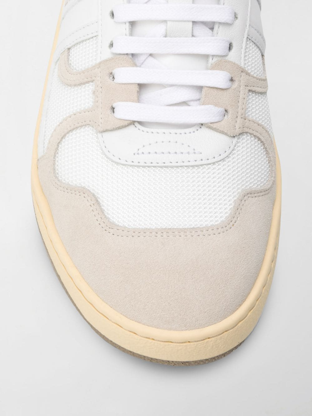 clay sneakers man white in leather LANVIN | Sneakers | FM-SKDK00-NASH-A2000