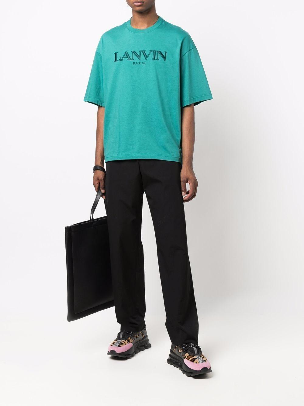 oversize t-shirt man in cotton LANVIN | T-shirts | RM-TS0009-J007-A21280