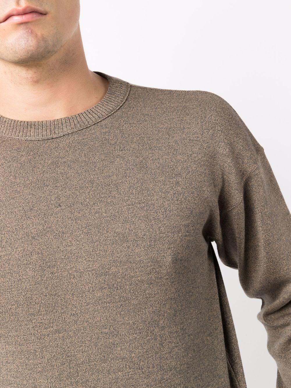 crewneck sweater man gray LEMAIRE | Sweaters | M 213 KN320 LK087.130