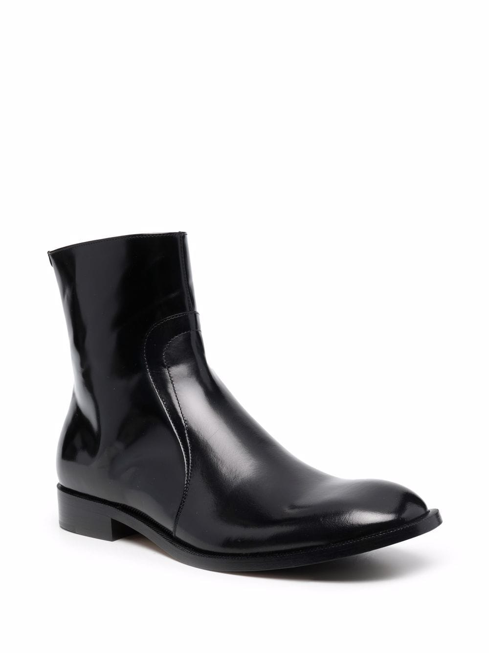 leather boots man black MAISON MARGIELA | Boots | S37WU0415 P3827H8396