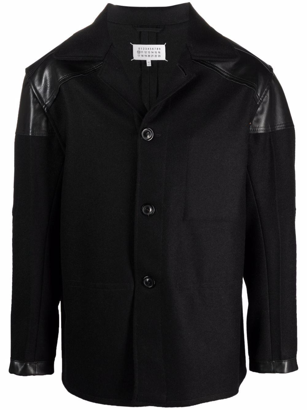 wool jacket man black MAISON MARGIELA | Jackets | S50AM0520 S44024900