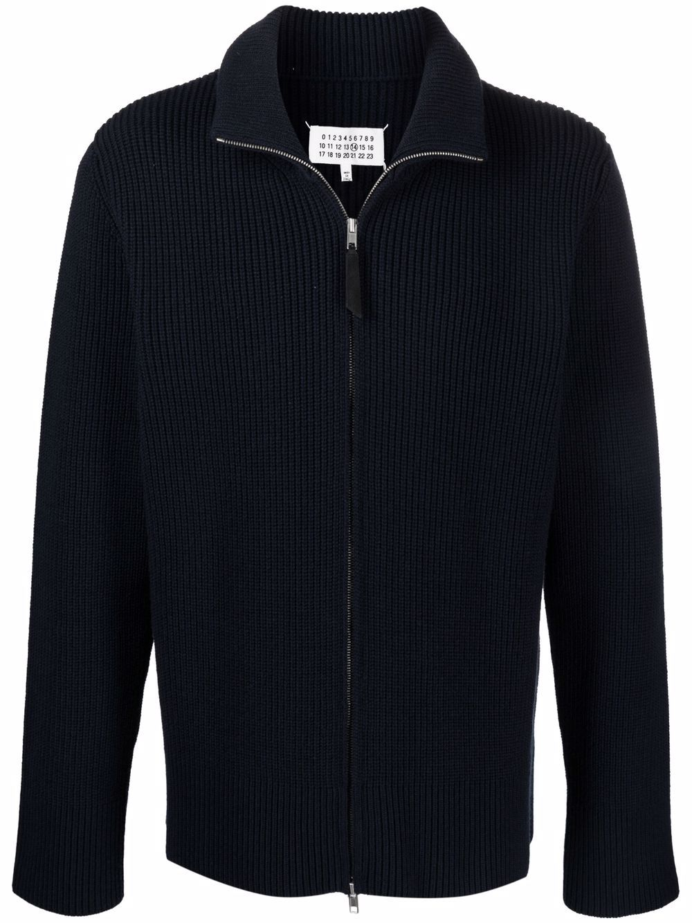 sweater with zip man navy MAISON MARGIELA | Sweaters | S50GP0246 S17791511F