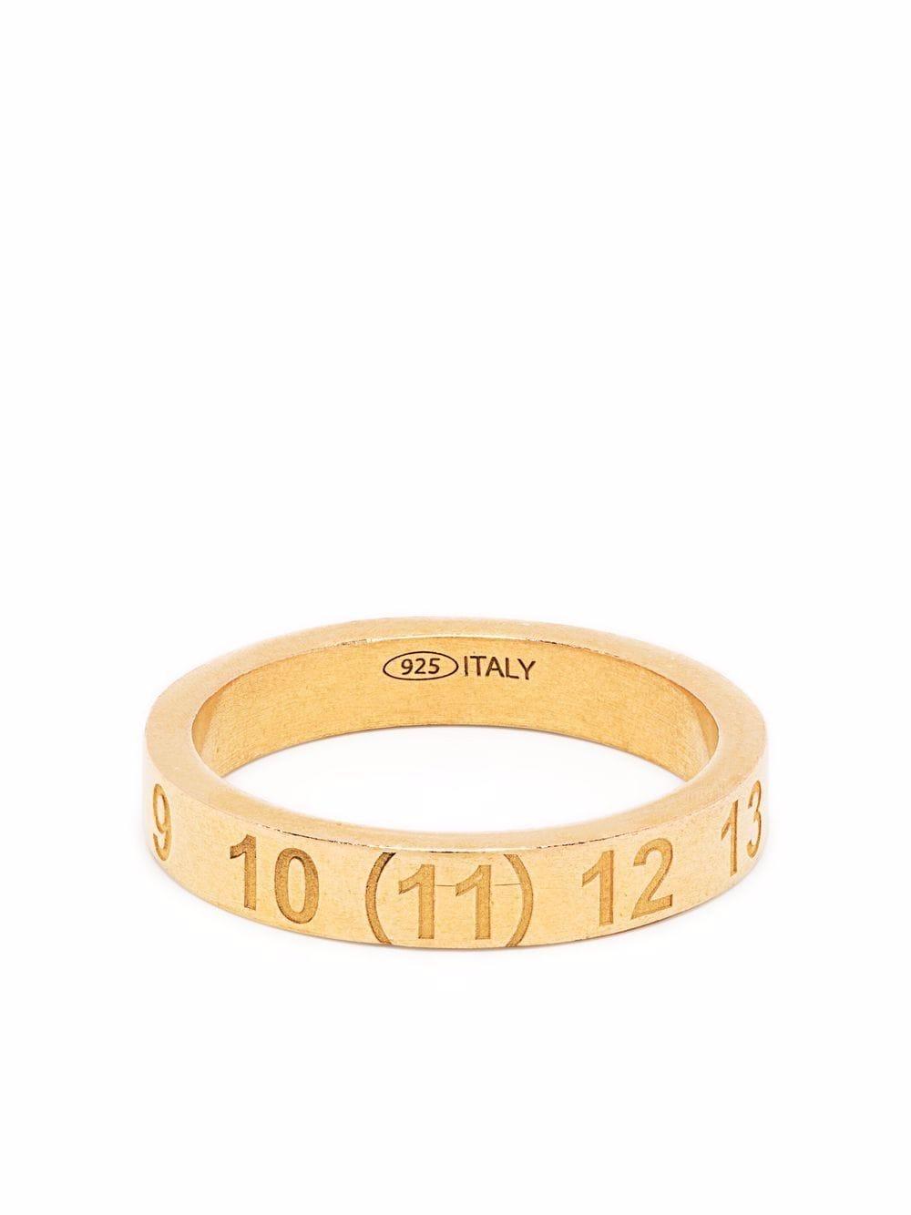 fede con logo unisex MAISON MARGIELA | Gioielli | SM1UQ0048 S12967950