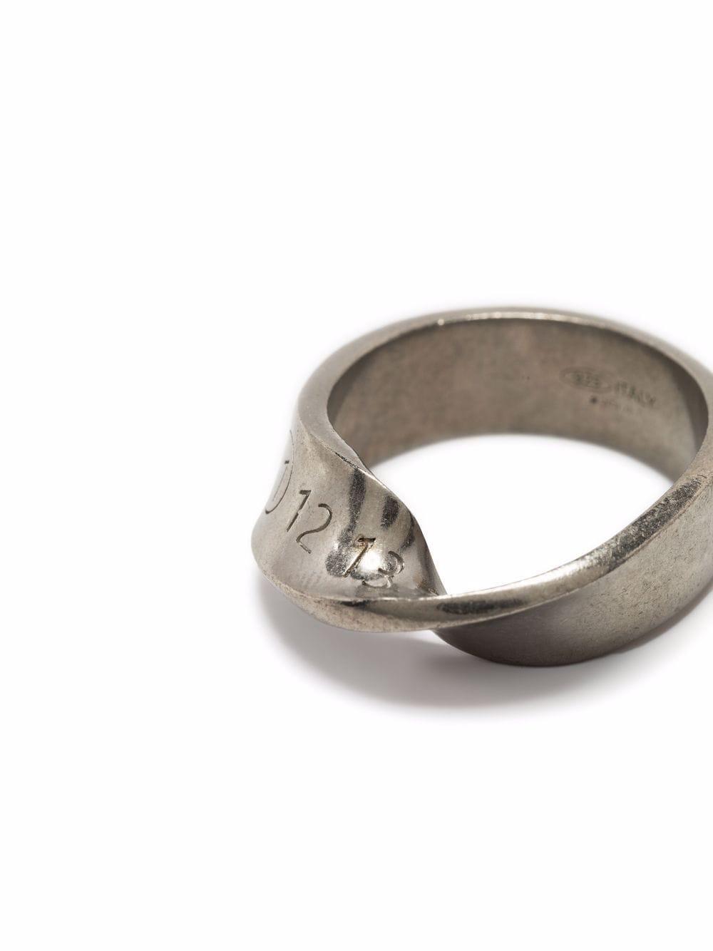 anello con numeri uomo argento MAISON MARGIELA | Gioielli | SM1UQ0057 S12975951