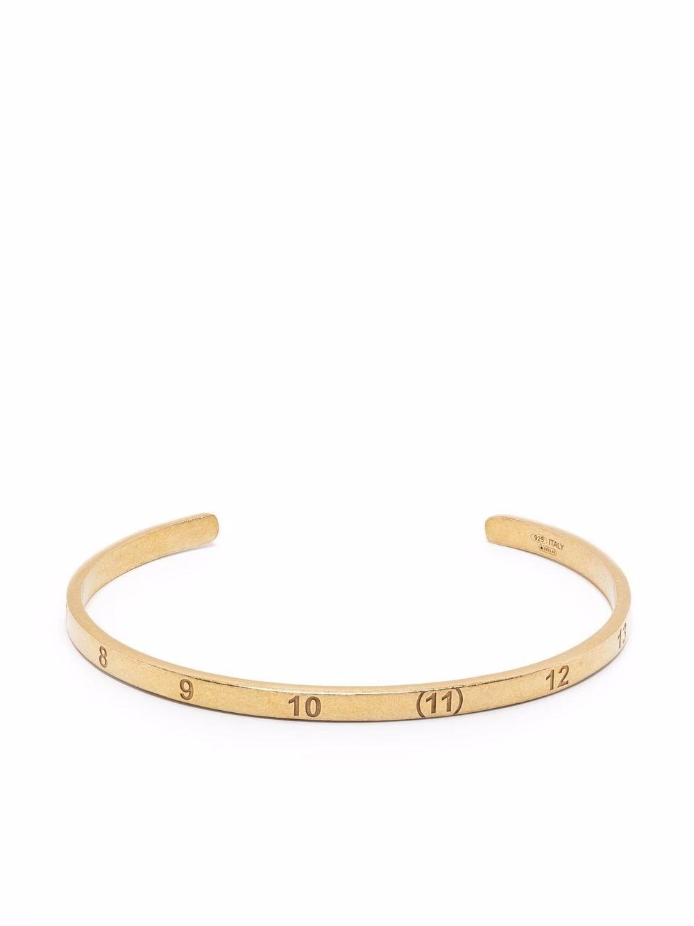 rigid bracelet unisex gold MAISON MARGIELA   Jewellery   SM1UY0037 S12967950