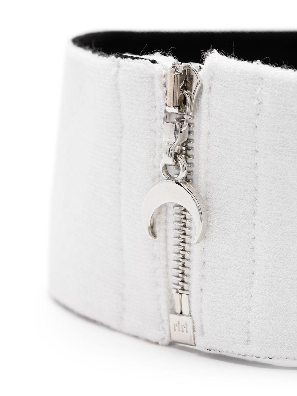choker unisex white MARINE SERRE   Mixed   A003ICONW01