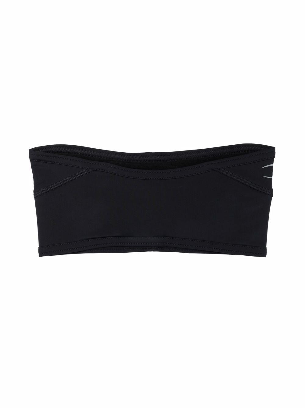 fascia con logo unisex nera MARINE SERRE | Mixed | A124FW21X00
