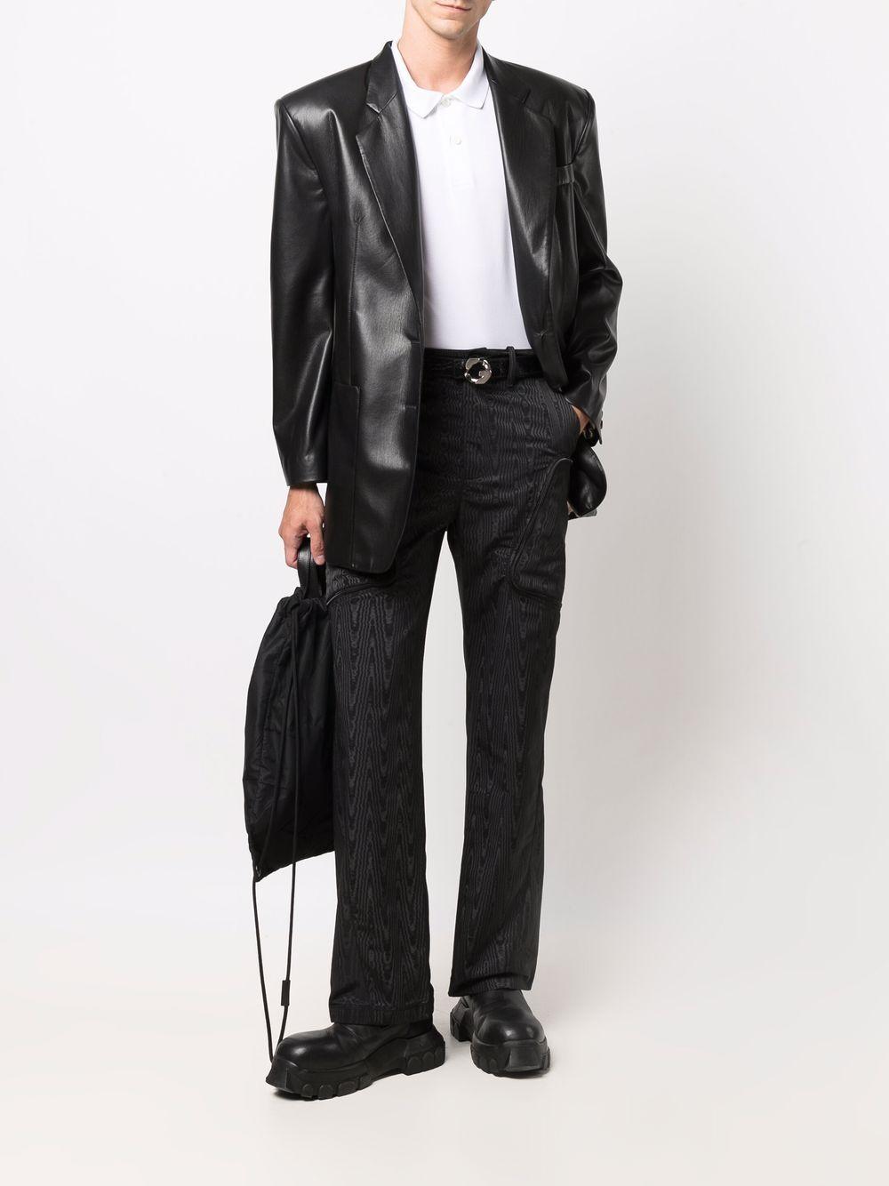 pantaloni con tasche uomo neri MARINE SERRE   Pantaloni   P096FW21M00