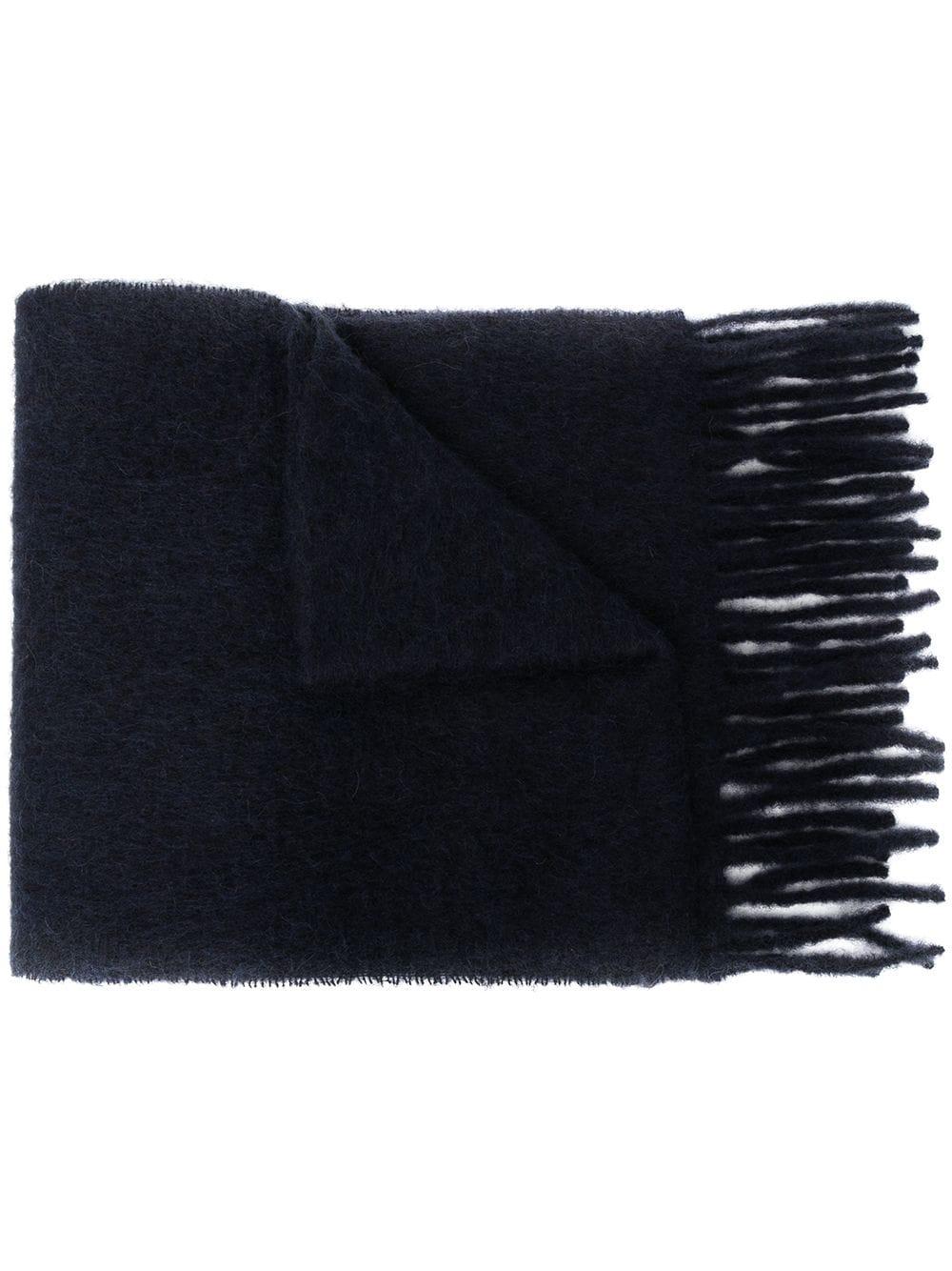 logo scarf uisex black  MARNI |  | ASZC0005A0UTW91800B99