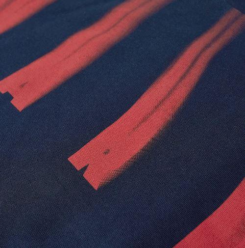 felpa con stampa uomo blu in cotone MARNI | Felpe | FUMU0074P0 UTC02900B99
