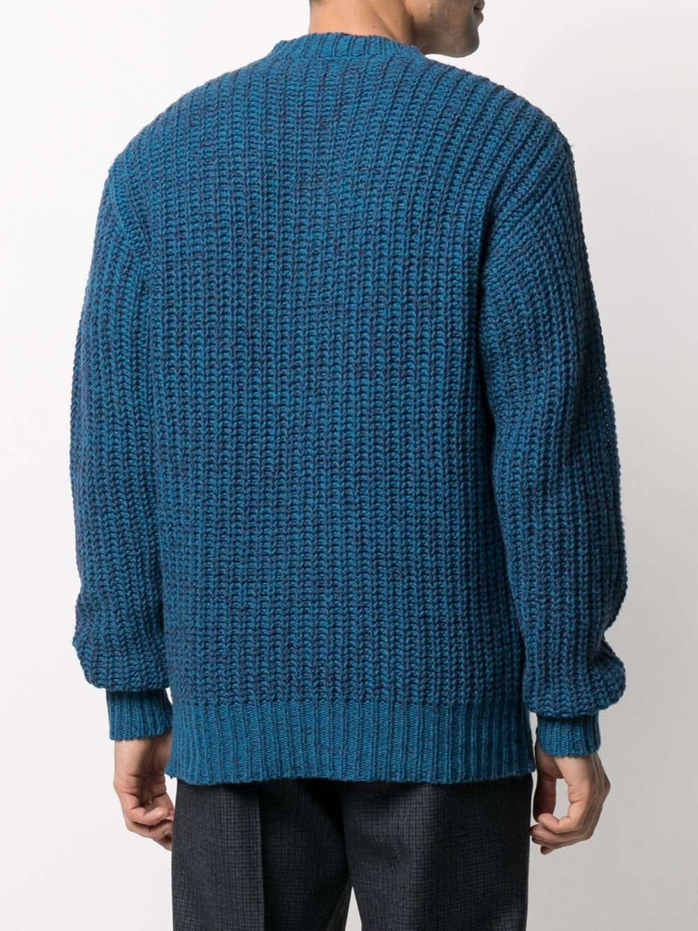 wool sweater man blue MARNI | Sweaters | GCMG0207P0 UFH92400B49