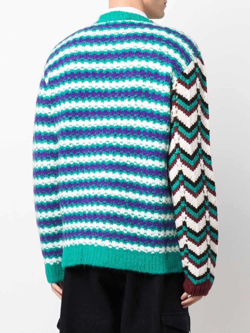 crew neck sweater man multicolor  MARNI | Sweaters | GCMG0220Q0 UFW030MXV63
