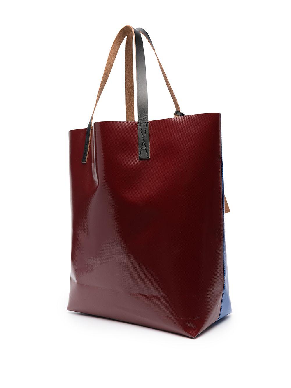 bicolor tote bag unisex in polyester MARNI | Bags | SHMQ0000A3 P3572Z2O13