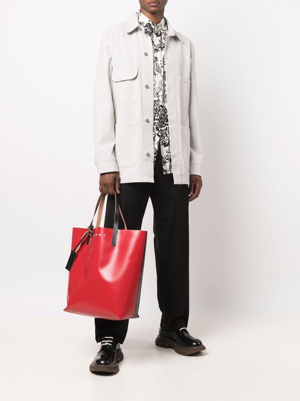 bicolor tote bag unisex in polyester MARNI | Bags | SHMQ0000A3 P3572Z2O64