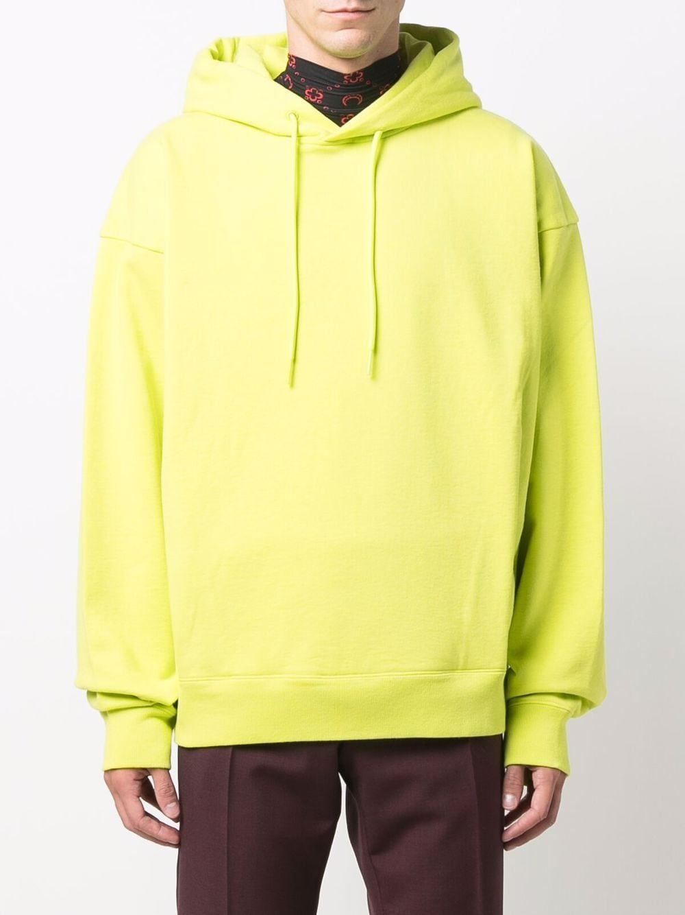 hoodie man yellow in cotton MARTINE ROSE   Sweatshirts   M602FCMR055